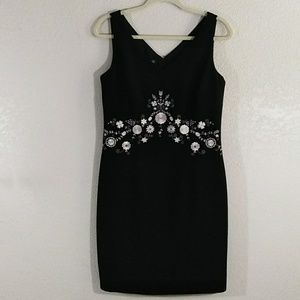 Maggy London black dress size 10